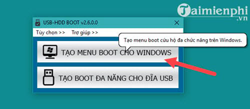 Tạo MENU BOOT cho Windows