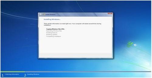 Bước 9: Tại đây bạn nhận được thông báo rằng bạn đang cài đè một phiên bản Windows lên Windows đang sử dụng hiện tại, nếu bạn tiếp tục thì sau khi cài xong, toàn bộ dữ liệu Windows cũ sẽ được chuyển vào một folder có tên là: windows.old trong thư mục Windows mới.