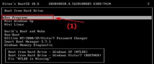 Bước 2: Tiếp đến bạn thực hiện các bước sau đây để ghost Win 7 bằng USB.