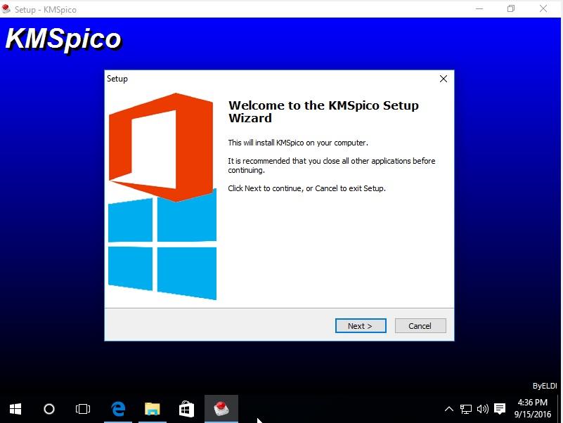 Các bước Crack Microsoft Office bằng KMSpico