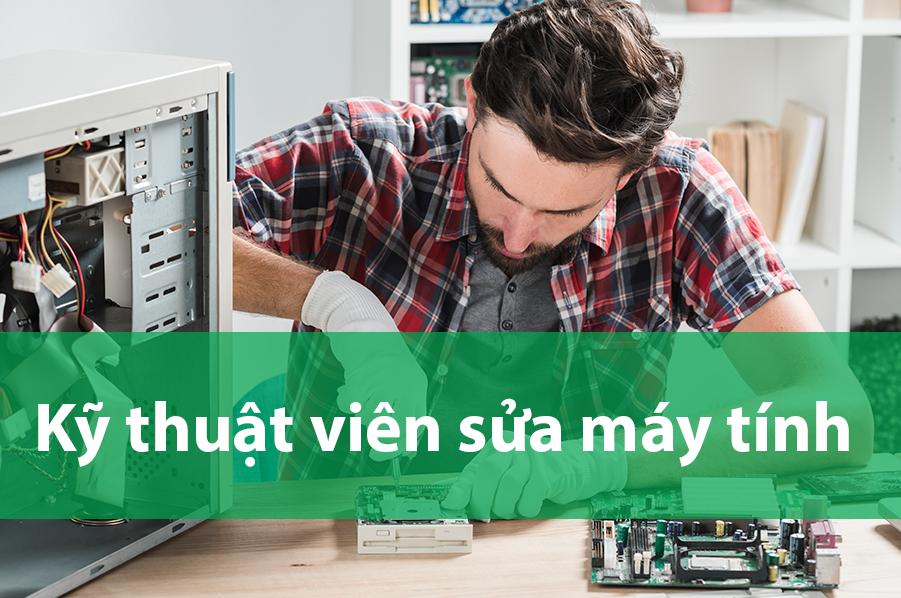 HTBK Computer tuyển dụng kỹ thuật viên cài win và sửa chữa máy tính tại nhà