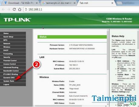 Bước 2: Màn hình đăng nhập xuất hiện, nhập tên đăng nhập và mật khẩu của modem, router TP-Link là: admin. Với mỗi một loại modem, router trên thị trường hiện nay đều có một tài khoản và mật khẩu đăng nhập khác nhau, nên bạn đọc cần chú ý tìm hiểu danh sách tài khoản đăng nhập modem của các hãng trước khi thực hiện các thủ thuật liên quan đến modem, router nhé.