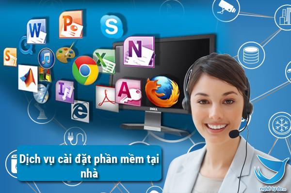 Dịch vụ cài phần mềm lấy liền TPHCM