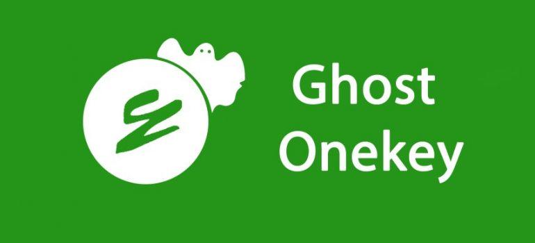 Tải Onekey ghost mới nhất - Tạo và bung ghost trên máy tính