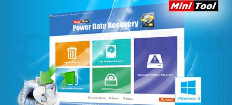 Phần mềm khôi phục dữ liệu MiniTool Power Data Recovery tốt nhất 2019