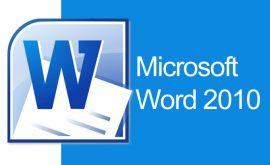 Giáo trình Word 2010 từ Cơ bản đến Nâng cao