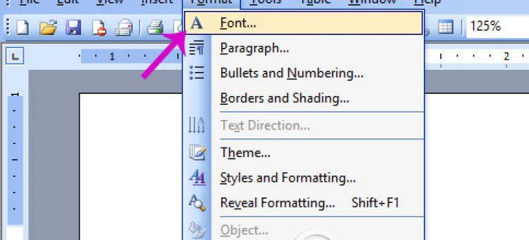 Sửa lỗi font chữ trong word online