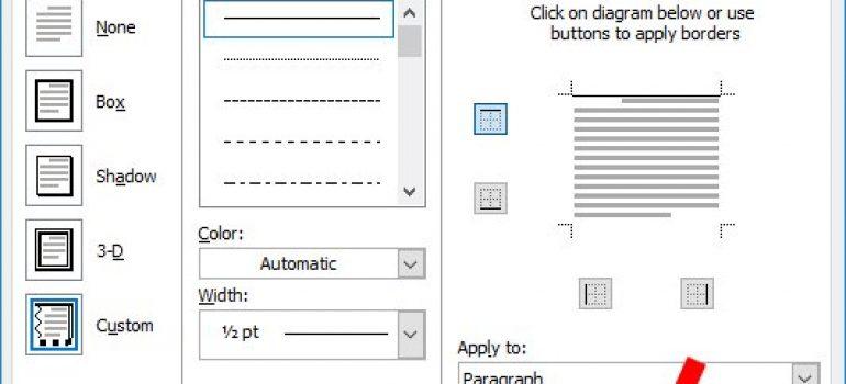 Cách tạo mẫu giấy A4 có dòng kẻ châm trong word thật dễ dàng