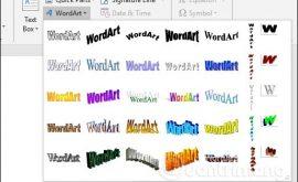 Cách tạo chữ nghệ thuật trong word 2007, 2010,2013,2016