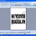 Cách làm bảng tên chức danh để bàn bằng MS Word