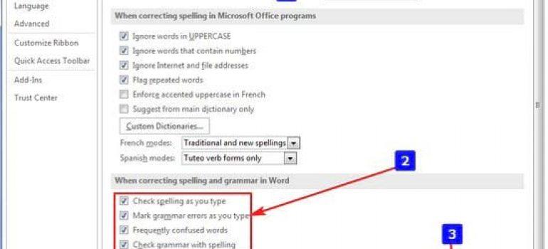 Cách kiểm tra lỗi chính tả trong word 2016