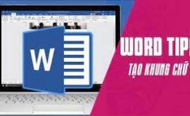cách làm khung bìa trong word 2016