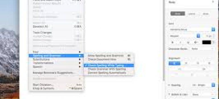 Mẹo sửa lỗi chính tả tự động trên MacBook