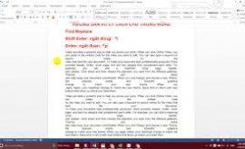 Hướng dẫn sửa lỗi cách chữ trong word 2016