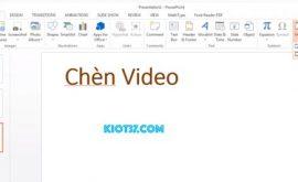 Cách chèn clip vào powerpoint 2010,2016