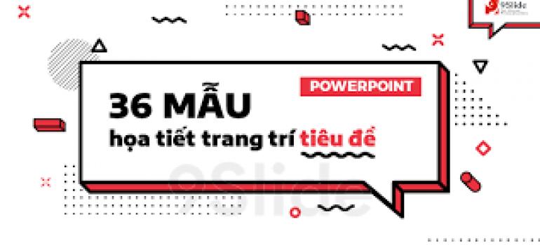tạo tiêu đề trong powerpoint