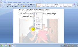 Cách làm mờ hình nền trong powerpoint