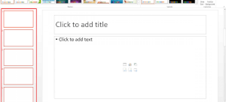 Cách tải theme cho powerpoint 2010