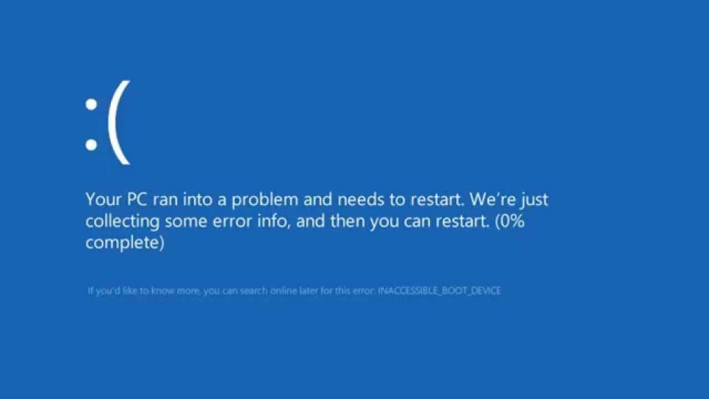 Lỗi màng hình xanh Win 7, Win 10 và các xử lý nhanh chóng