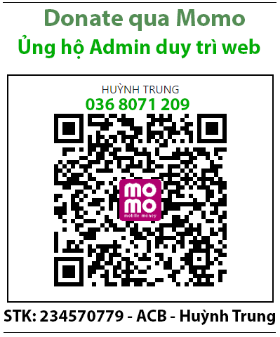 Domate Ủng hộ Admin