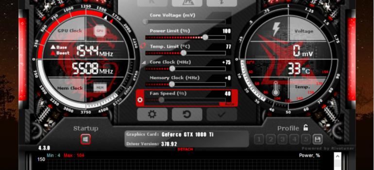 Hướng dẫn tải và cài đặt phần mềm msi afterburner mới nhất